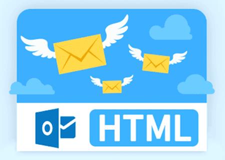 שליחת מייל HTML ב-Outlook